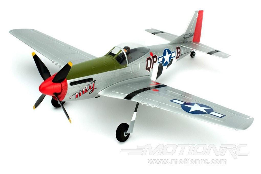 "Parkzone Ultra Micro P-51D with AS3X 410mm (16"") Wingspan - RTF PKZU2400"