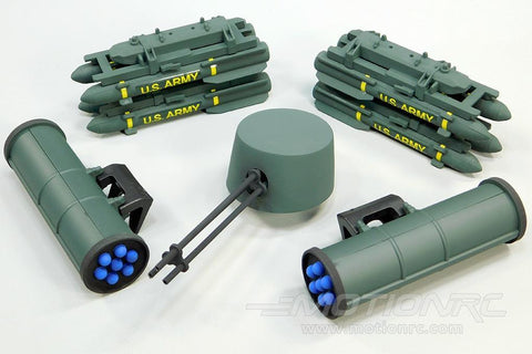 Roban 500 Size AH-64 Apache Weapons Set RBN-SP-AC500-07