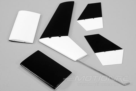 Roban 500 Size Airwolf Tail Wing and Fin Set RBN-SP-AW500BL-03