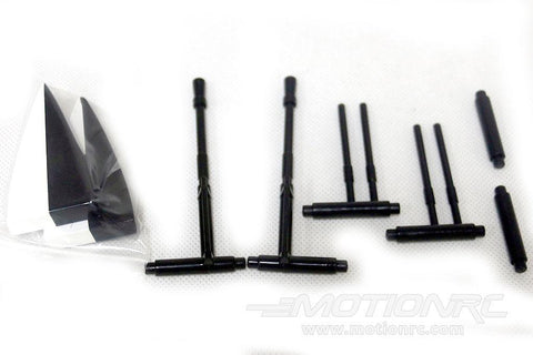 Roban 500 Size Airwolf Weapons Set RBN-SP-AW500BL-04