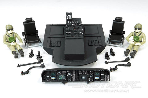 Roban 500 Size UH-60 Black Hawk Complete Cockpit Set RBN-HSB-UH60CPT5