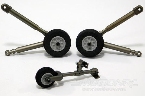 Roban 500 Size UH-60 Landing Gear Set RBN-SP-UH60G5-08-GRN