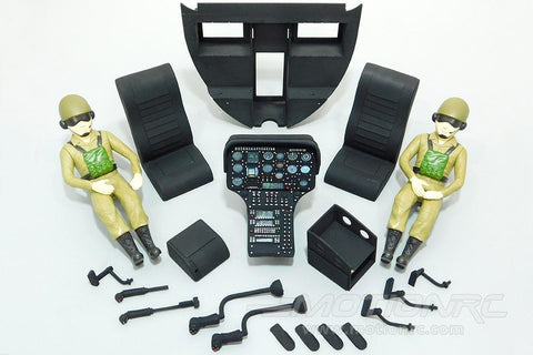 Roban 600 Size MD-500E Complete Cockpit Set RBN-60-117-MD500E