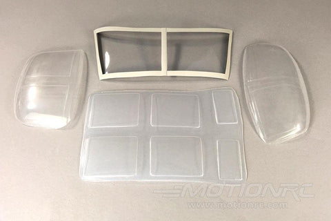 Roban 600 Size UH-1N Complete Window Set RBN-SP-AW-UH600N