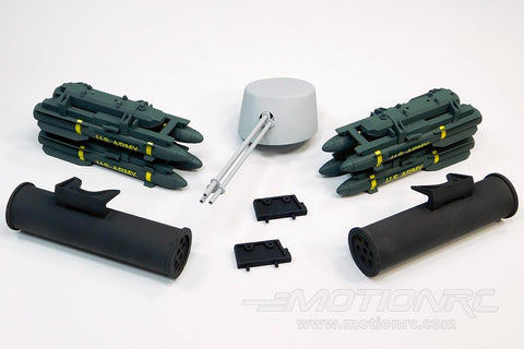 Roban 700 Size AH-1 Desert Gray Weapons Set RBN-70-111-ACGR
