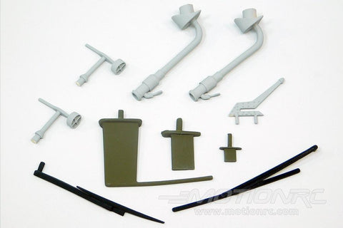 Roban 700 Size Grey AH-64 Apache Scale Parts Set RBN-70-113-AH64GR