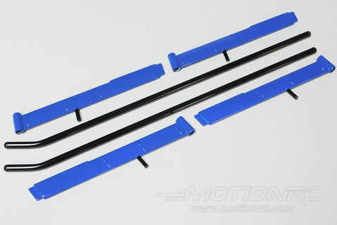 Roban 700 Size MD-500E Blue Landing Gear Set RBN-RCH-70-003-MD500E-BLUE