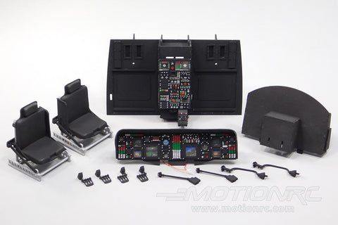 Roban 700 Size UH-60 Black Hawk Complete Cockpit Set RBN-70-117-UH-60