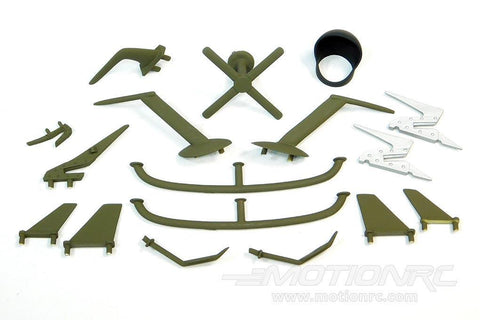 Roban 700 Size UH-60 Black Hawk Scale Parts Set RBN-70-113-UH-60