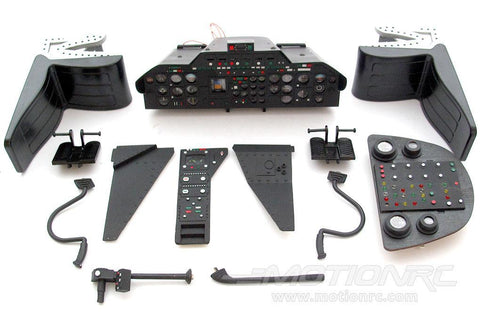 Roban 800 Size Airwolf Complete Cockpit Set RBN-70-117-AW
