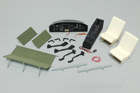 Roban 800 Size UH-1N Marines Complete Cockpit Set RBN-70-117-UH1N