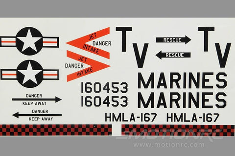 Roban 800 Size UH-1N Marines Decal Set RBN-70-118-UH1N