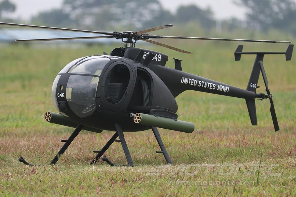 Roban AH-6 Little Bird 800 Size Scale Helicopter ARF RBN-LTB-8