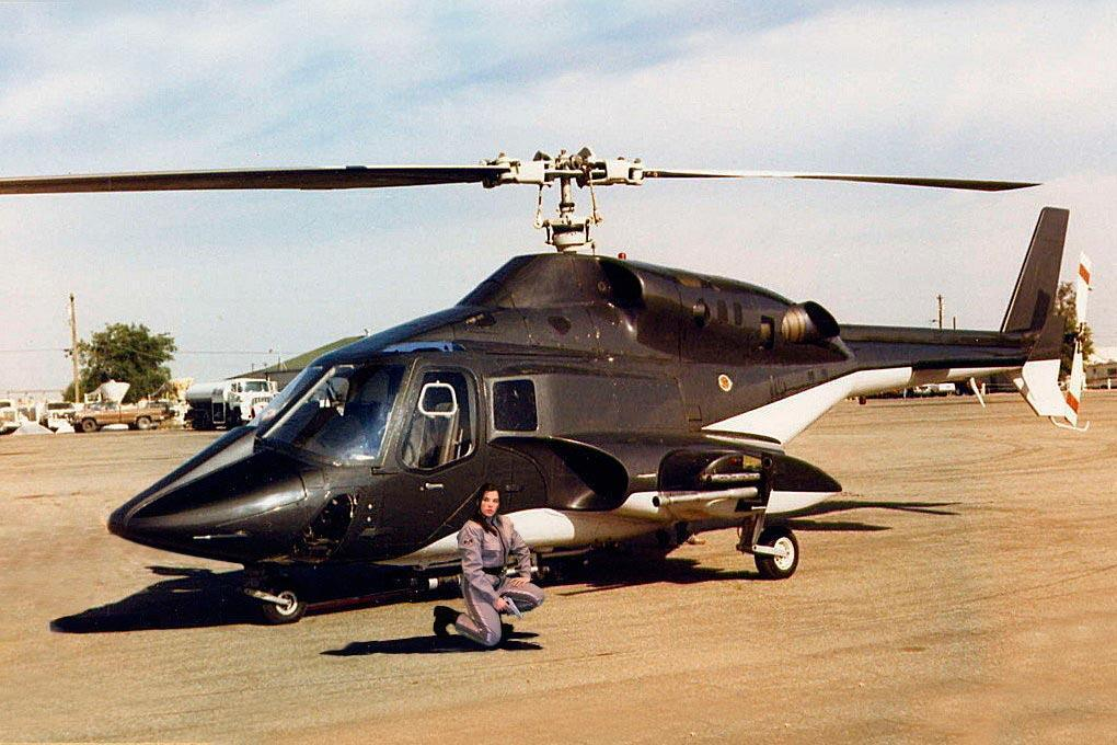 Roban Airwolf 800 Size Scale Helicopter - ARF