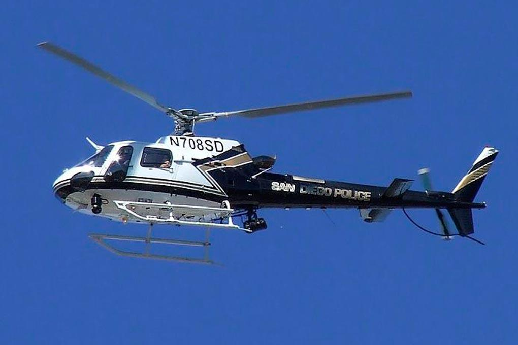 Roban AS350 San Diego Police 700 Size Helicopter - ARF RBN-AS350SDP-7S