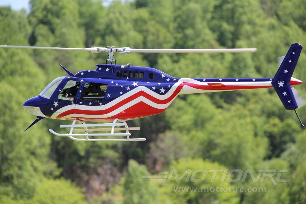 Roban B206 Stars and Stripes 700 Size Helicopter Scale Conversion - KIT RBN-KF206SS7