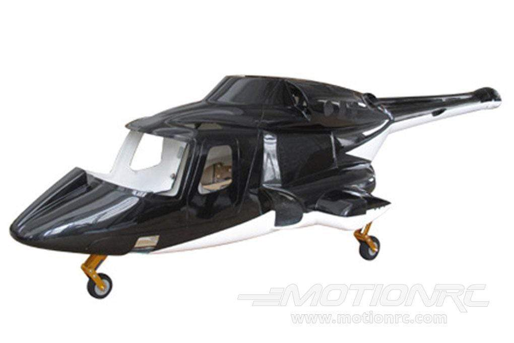 Roban B222 Airwolf 600 Size Helicopter Scale Conversion - KIT - SCRATCH AND DENT RBN-KFHAW6(SD)