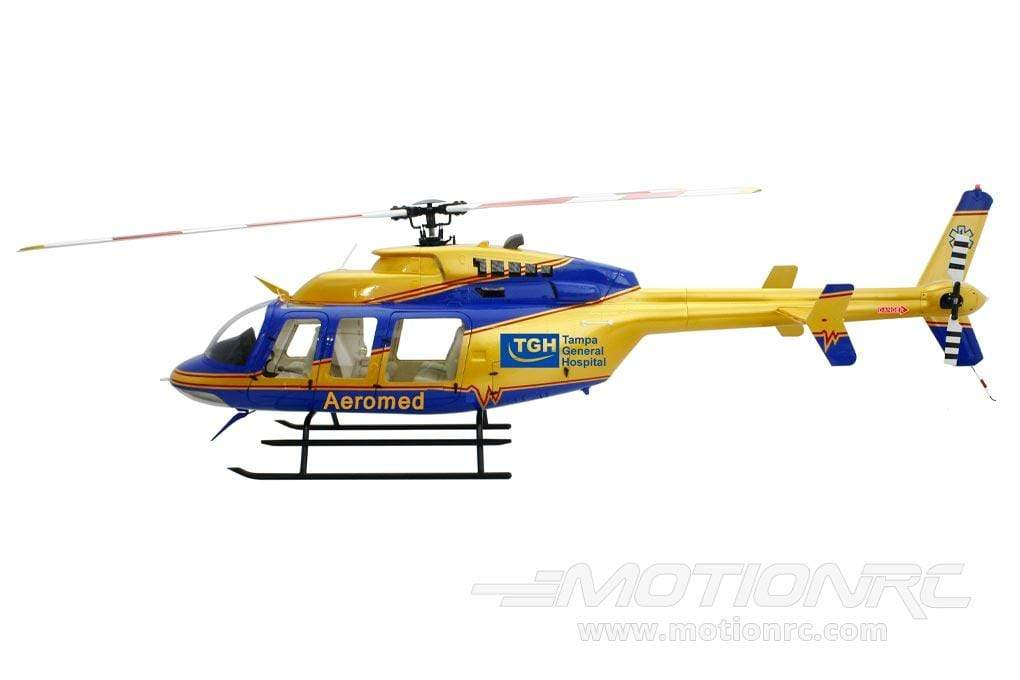 Roban B407 Aeromed 700 Size Scale Helicopter - ARF RCH-BE407GB7
