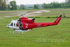 Roban B412 LA Fire & Rescue 800 Size Scale Helicopter - ARF - SCRATCH AND DENT RBN-412WBR-S8(SD)