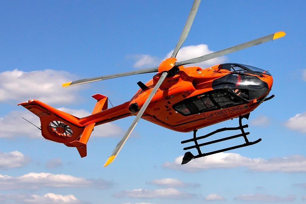 Roban EC-135 Luftrettung 800 Size Scale Helicopter - ARF