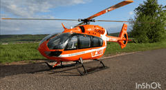 Roban EC-145 Pelican 800 Size Scale Helicopter - ARF RCH-145T2-Pelican-800