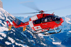 Roban EC-145 Swiss Medic Red/White 600 Size Helicopter Scale Conversion - KIT RBN-KF145RW-6