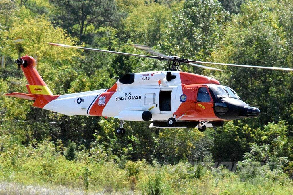 Roban HH-60 Jayhawk US Coast Guard 700 Size Scale Helicopter - ARF RBN-SF-JH60-7S