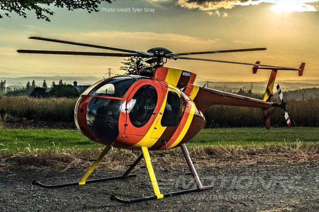 Roban MD-500D Magnum PI 800 Size Scale Helicopter - ARF RBN-MD-MG8