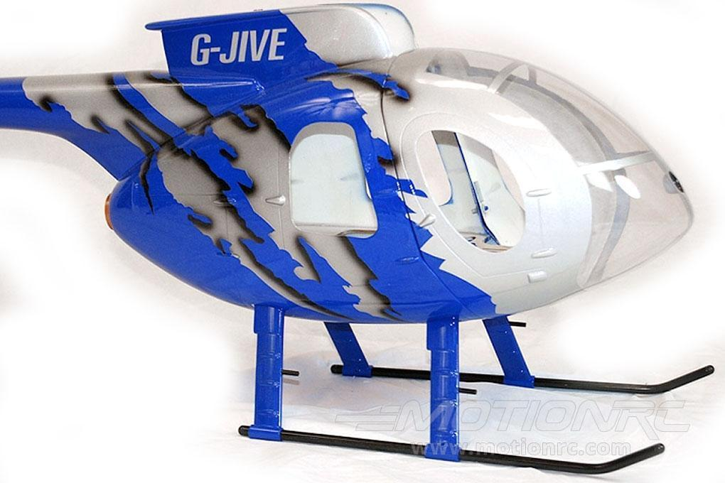 Roban MD-500E G-Jive Blue 500 Size Helicopter Scale Conversion - KIT