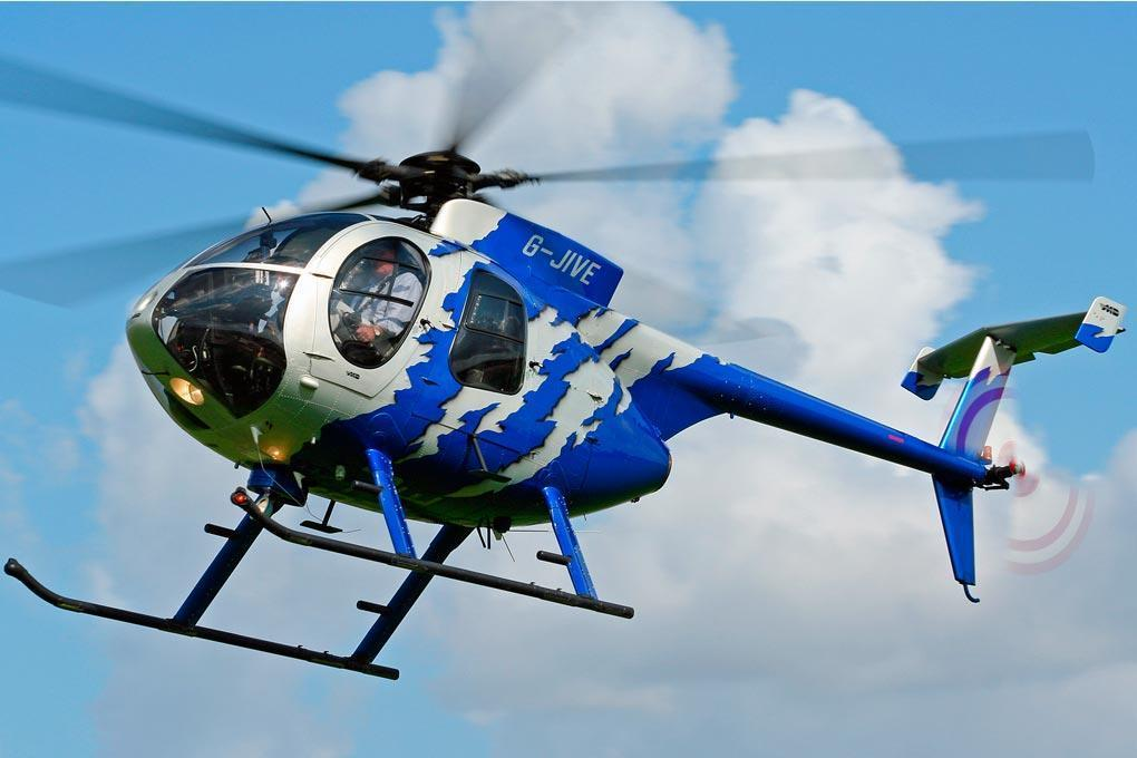 Roban MD-500E G-Jive Blue 700 Size Helicopter Scale Conversion - KIT RBN-KF500GJB7