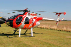 Roban MD-500E G-Jive Red 500 Size Helicopter Scale Conversion - KIT - SCRATCH AND DENT RBN-KFMD500GJR5(SD)