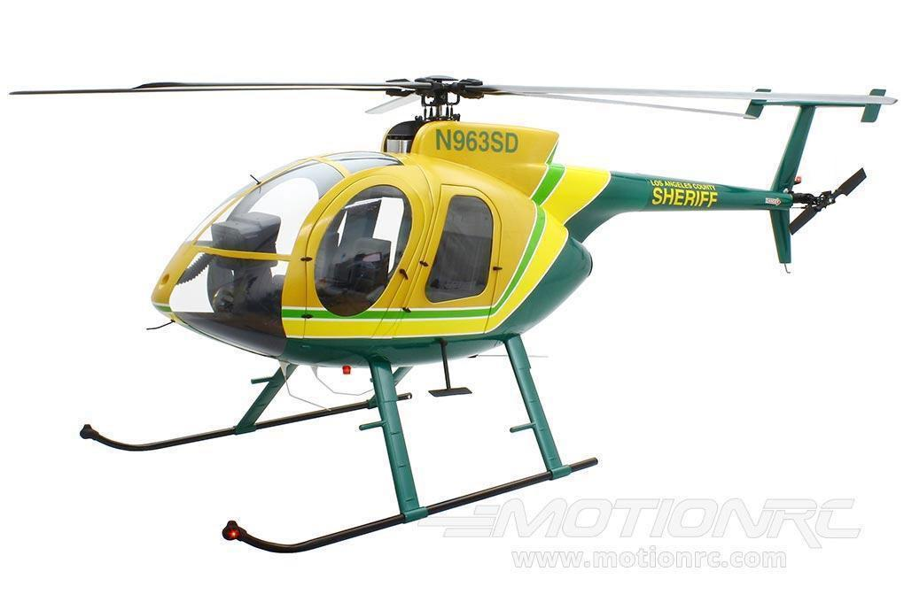 Roban MD-500E LA Sheriff 800 Size Scale Helicopter - ARF