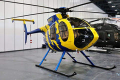 Roban MD-500E Yellow and Blue 800 Size Scale Helicopter - ARF RCH-MD500BY8