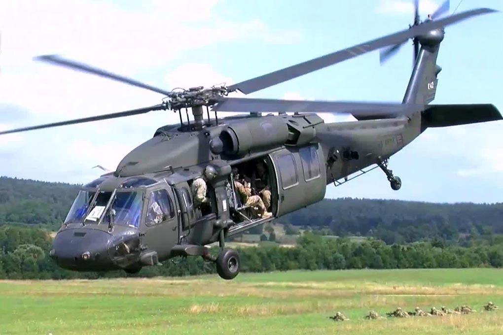 Roban UH-60 Black Hawk 500 Size Helicopter Scale Conversion