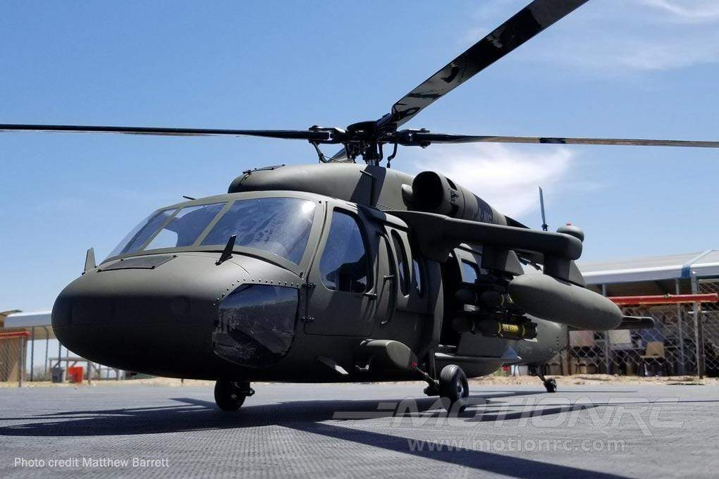 Roban UH-60 Black Hawk Scale 700 Size Helicopter ARF RBN-SFUH60-7S