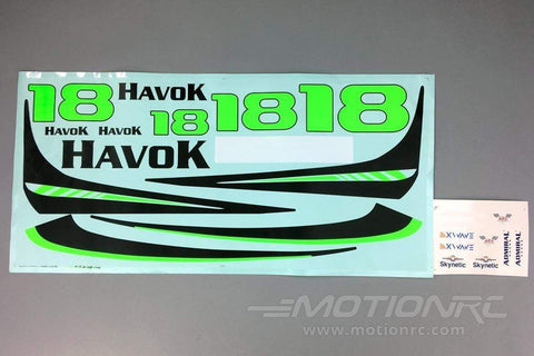 Skynetic 1000mm Havok Racer Decal Sheet SKY1000-109