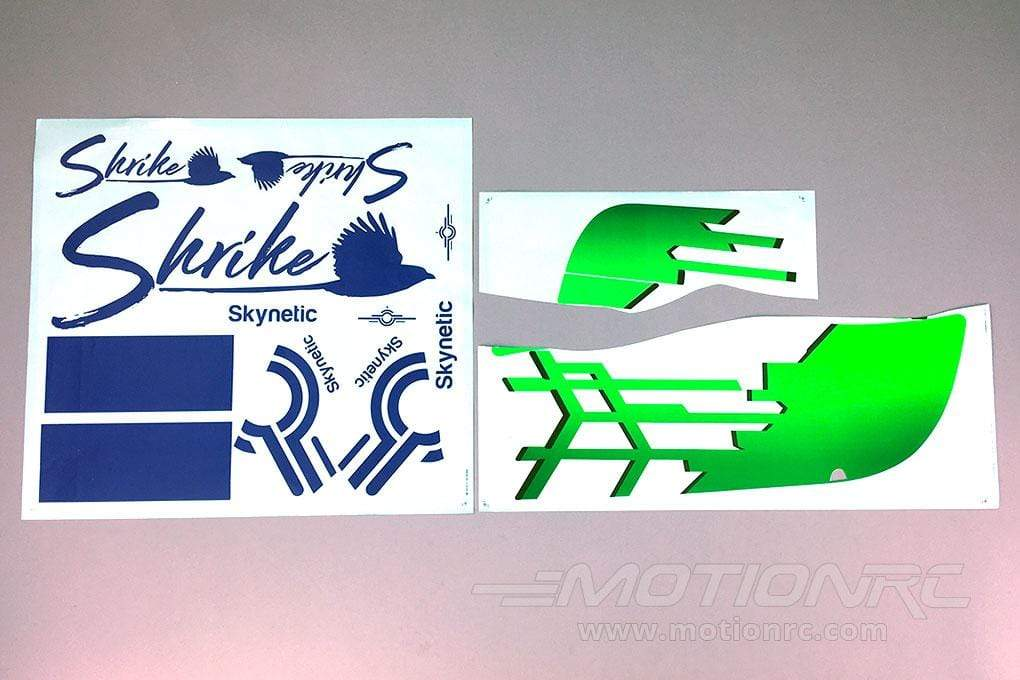 Skynetic 1400mm Shrike Glider Decal Sheet SKY1001-109