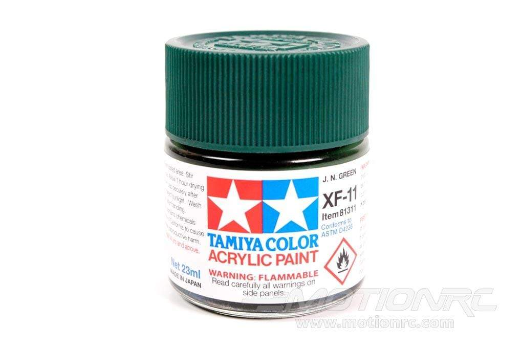 Tamiya Acrylic XF-11 J.N. Green 23ml Bottle TAM81311