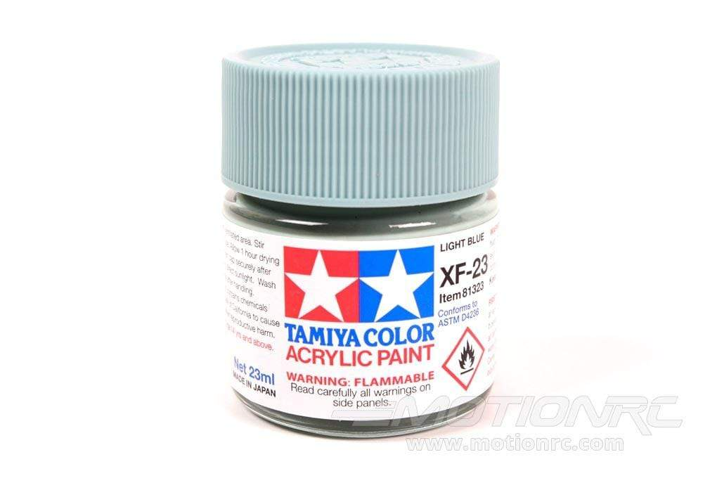 Tamiya Acrylic XF-23 Light Blue 23ml Bottle TAM81323