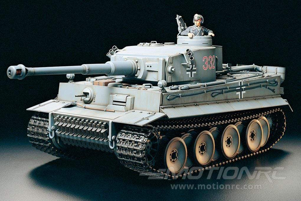 Tamiya German Tiger 1 Professional Edition 1/16 Scale Heavy Tank - RTR TAM56010