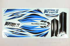 TechOne Neptune II Decal Sheet - Blue TEC0918MH002