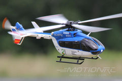 "XK K124 Blue with Gyro 250mm (9.8"") Rotor Diameter - RTF WLT-K124R"