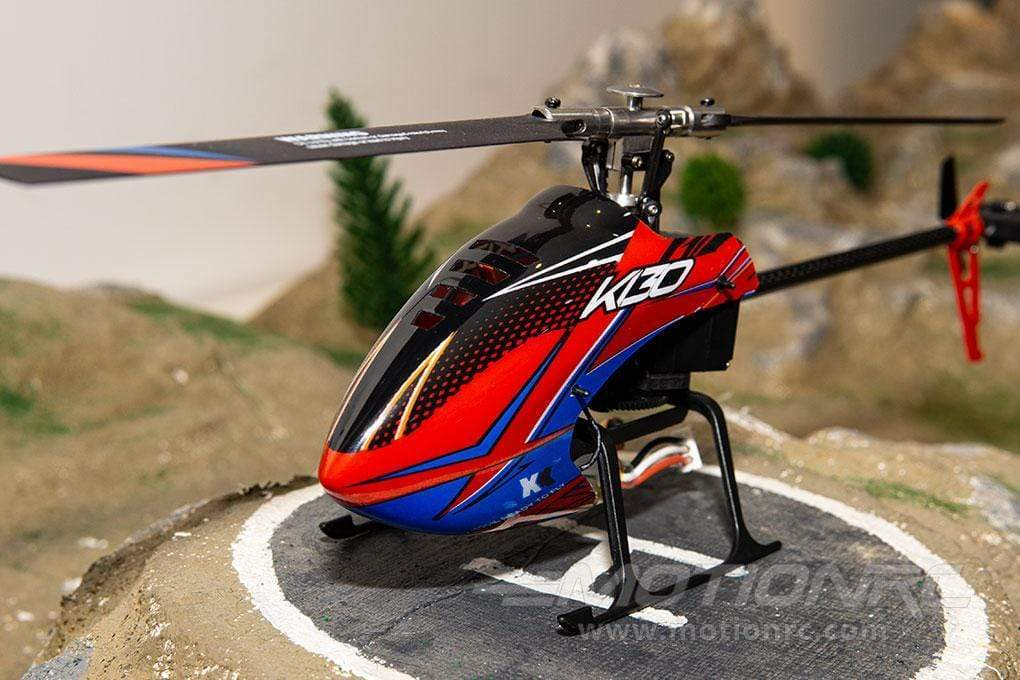 "XK K130 with Gyro 305mm (12"") Rotor Diameter - RTF - SCRATCH AND DENT WLT-K130R(SD)"