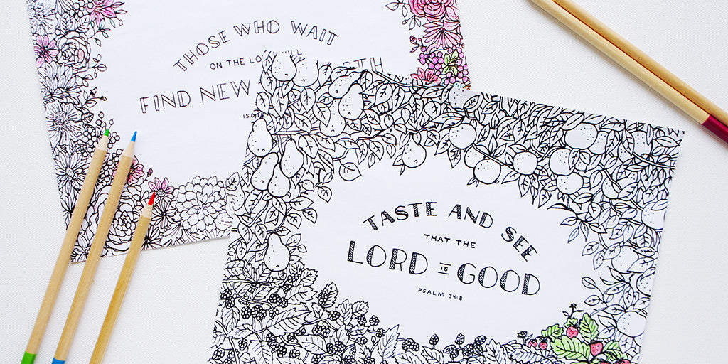 Getting the Most Out of Your Coloring Pages