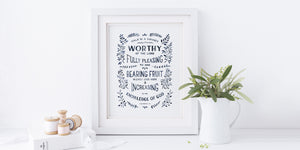 Scripture Art for walls with Bible verses for Christian homes