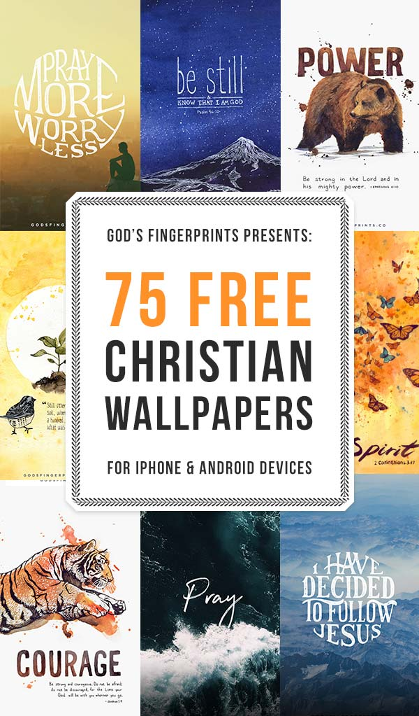 75 Free Christian Wallpapers for iPhone Android with Biblical Quotes and Verses