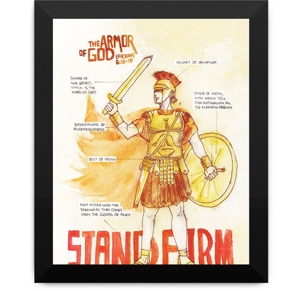 armor of God stand firm in your faith