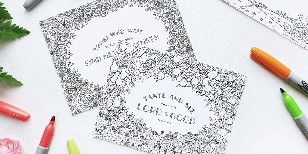 Creative Ideas For Your Free Bible Coloring Pages