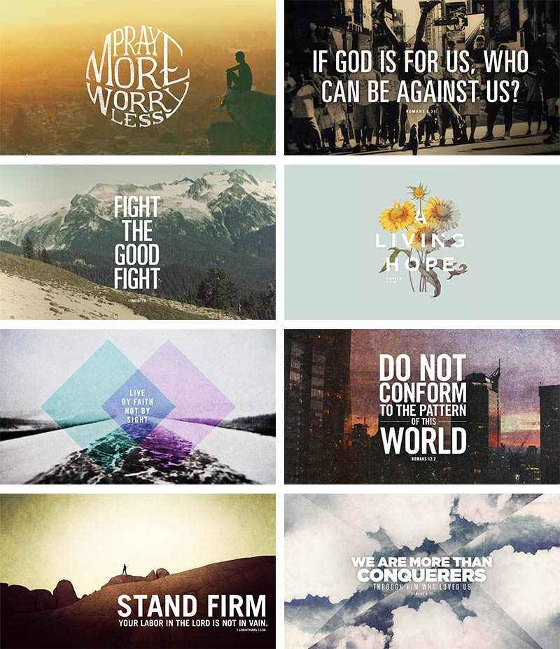 25 Free Bible Wallpapers - God's fingerprints