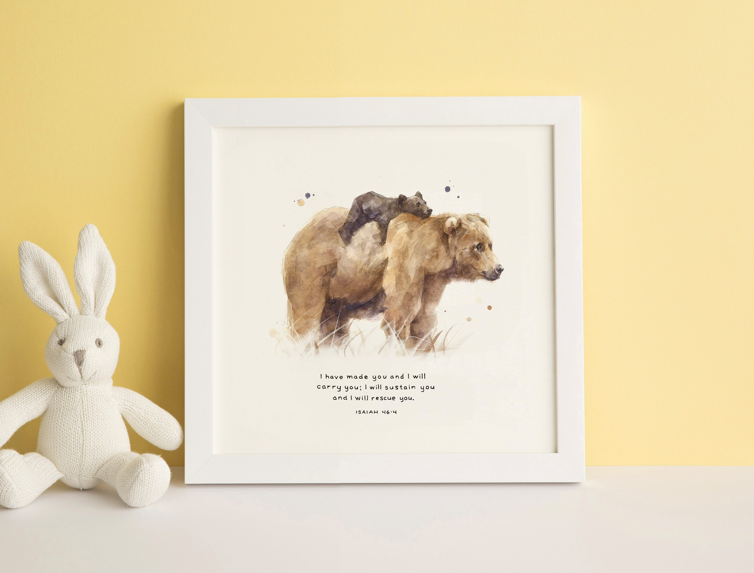 Christian Gifts for Kids - Scripture Art inspired by the Bible